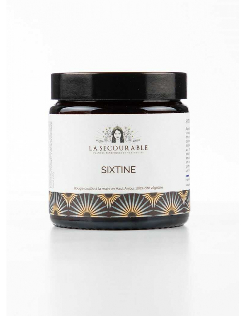 Sixtine - bougie artisanale