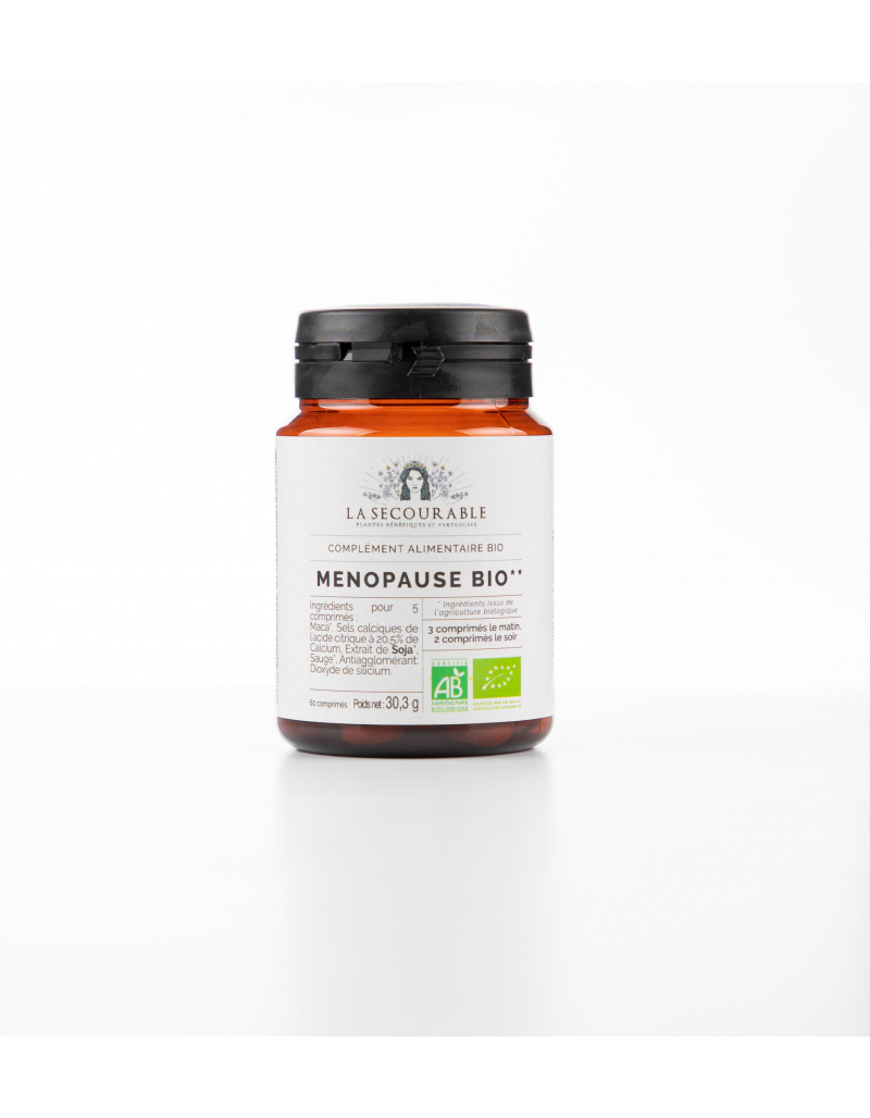 Ménopause Bio - Compléments Alimentaires Bio