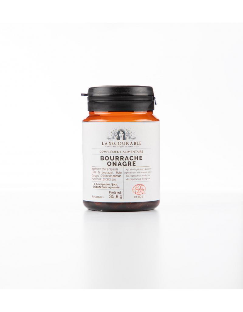 Bourrache/onagre Bio - Compléments Alimentaires Bio