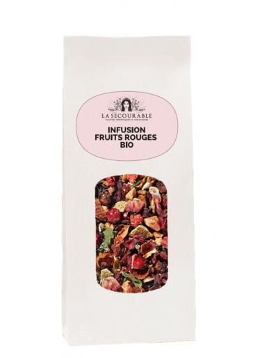 infusion bio - fruits rouges