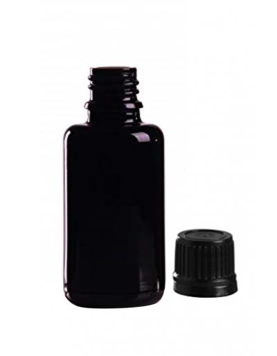 flacon en verre violet